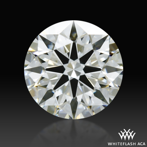 0.561 ct I VS1 A CUT ABOVE® Hearts and Arrows Super Ideal Round Cut Loose Diamond