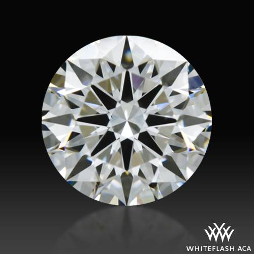 0.616 ct H VS1 A CUT ABOVE® Hearts and Arrows Super Ideal Round Cut Loose Diamond