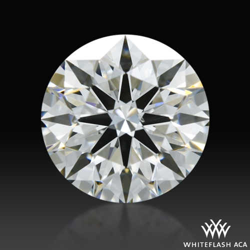 0.731 ct H SI1 A CUT ABOVE® Hearts and Arrows Super Ideal Round Cut Loose Diamond