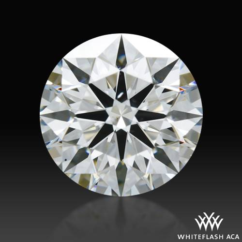 0.77 ct G SI1 A CUT ABOVE® Hearts and Arrows Super Ideal Round Cut Loose Diamond