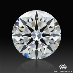 0.742 ct D VS1 A CUT ABOVE® Hearts and Arrows Super Ideal Round Cut Loose Diamond