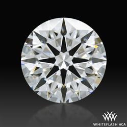 0.775 ct D VVS2 A CUT ABOVE® Hearts and Arrows Super Ideal Round Cut Loose Diamond
