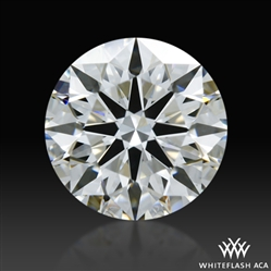 0.717 ct E VS1 A CUT ABOVE® Hearts and Arrows Super Ideal Round Cut Loose Diamond