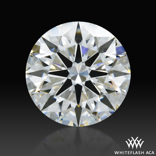 0.733 ct G VS2 A CUT ABOVE® Hearts and Arrows Super Ideal Round Cut Loose Diamond