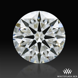 0.75 ct G VS2 A CUT ABOVE® Hearts and Arrows Super Ideal Round Cut Loose Diamond