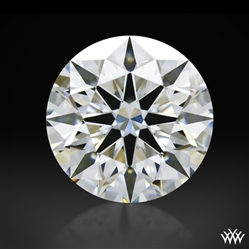 1.043 ct F VVS1 A CUT ABOVE® Hearts and Arrows Super Ideal Round Cut Loose Diamond