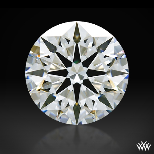1.014 ct F VS1 A CUT ABOVE® Hearts and Arrows Super Ideal Round Cut Loose Diamond