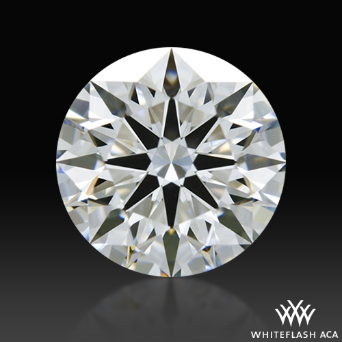 1.042 ct F VS1 A CUT ABOVE® Hearts and Arrows Super Ideal Round Cut Loose Diamond