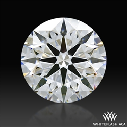 1.534 ct D VS1 A CUT ABOVE® Hearts and Arrows Super Ideal Round Cut Loose Diamond