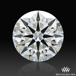1.022 ct D SI1 A CUT ABOVE® Hearts and Arrows Super Ideal Round Cut Loose Diamond