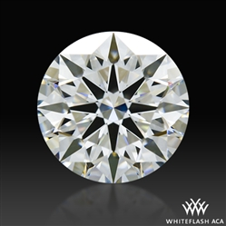 1.215 ct G VS1 A CUT ABOVE® Hearts and Arrows Super Ideal Round Cut Loose Diamond