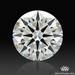 1.29 ct I VS2 A CUT ABOVE® Hearts and Arrows Super Ideal Round Cut Loose Diamond
