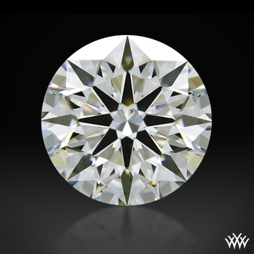 1.237 ct H VS2 A CUT ABOVE® Hearts and Arrows Super Ideal Round Cut Loose Diamond