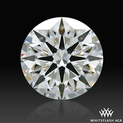 1.222 ct G VS1 A CUT ABOVE® Hearts and Arrows Super Ideal Round Cut Loose Diamond