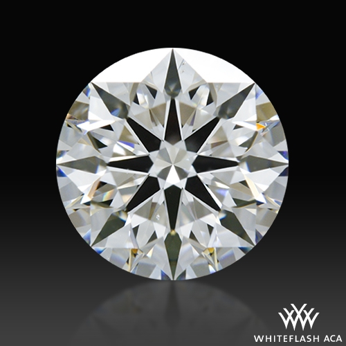 1.508 ct F SI1 A CUT ABOVE® Hearts and Arrows Super Ideal Round Cut Loose Diamond