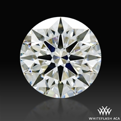 1.524 ct H VS2 A CUT ABOVE® Hearts and Arrows Super Ideal Round Cut Loose Diamond