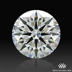 1.717 ct G SI1 A CUT ABOVE® Hearts and Arrows Super Ideal Round Cut Loose Diamond