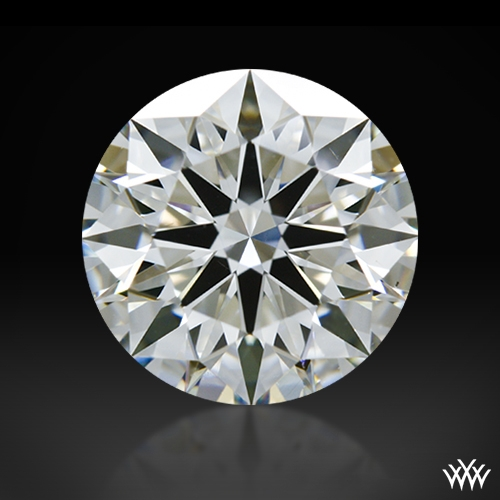 1.517 ct G VS2 A CUT ABOVE® Hearts and Arrows Super Ideal Round Cut Loose Diamond