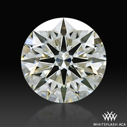 2.53 ct I SI1 A CUT ABOVE® Hearts and Arrows Super Ideal Round Cut Loose Diamond