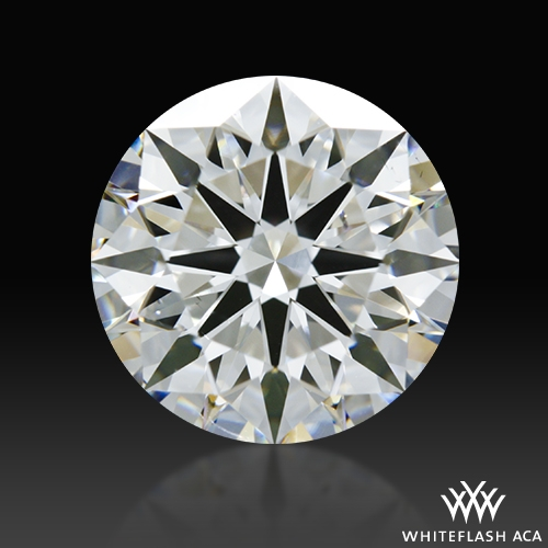 2.01 ct G SI1 A CUT ABOVE® Hearts and Arrows Super Ideal Round Cut Loose Diamond