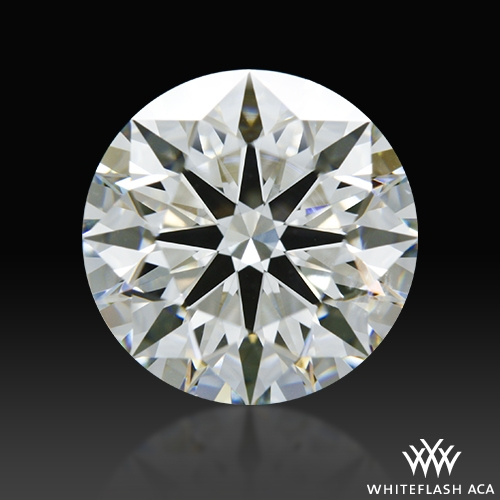 2.007 ct H SI1 A CUT ABOVE® Hearts and Arrows Super Ideal Round Cut Loose Diamond
