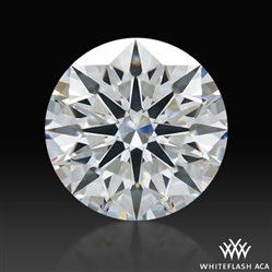 1.511 ct H SI1 A CUT ABOVE® Hearts and Arrows Super Ideal Round Cut Loose Diamond