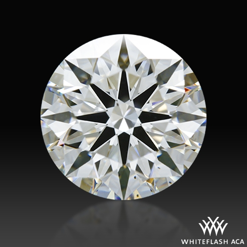 1.796 ct G VS2 A CUT ABOVE® Hearts and Arrows Super Ideal Round Cut Loose Diamond