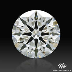 1.567 ct I VS2 A CUT ABOVE® Hearts and Arrows Super Ideal Round Cut Loose Diamond