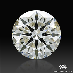2.001 ct H SI2 A CUT ABOVE® Hearts and Arrows Super Ideal Round Cut Loose Diamond