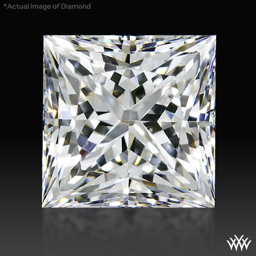 1.128 ct F VS1 A CUT ABOVE® Princess Super Ideal Cut Diamond