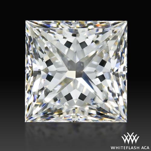 1.026 ct H VS2 A CUT ABOVE® Princess Super Ideal Cut Diamond