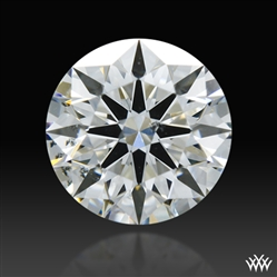 0.602 ct G SI1 A CUT ABOVE® Hearts and Arrows Super Ideal Round Cut Loose Diamond