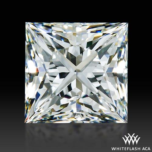 0.932 ct H VS1 A CUT ABOVE® Princess Super Ideal Cut Diamond