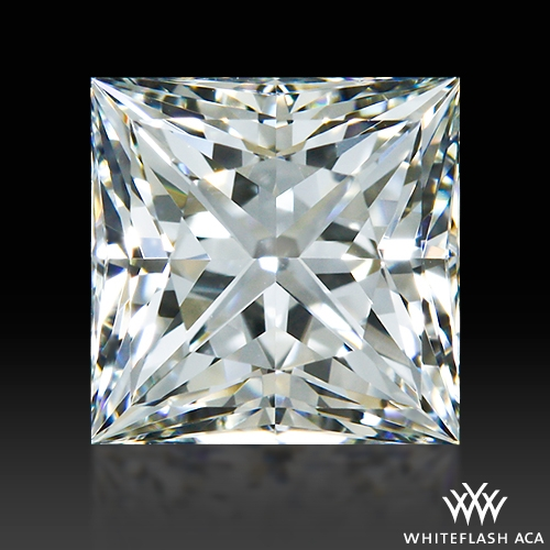 0.694 ct G VS1 A CUT ABOVE® Princess Super Ideal Cut Diamond