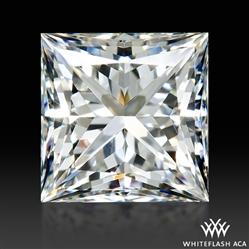 0.527 ct E VS2 A CUT ABOVE® Princess Super Ideal Cut Diamond