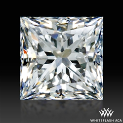 0.664 ct F VS2 A CUT ABOVE® Princess Super Ideal Cut Diamond