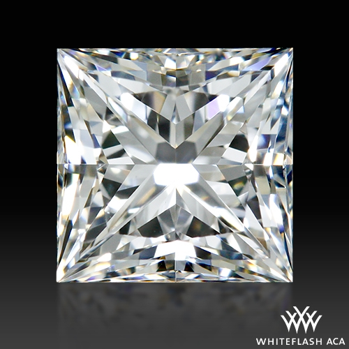 0.521 ct G VS2 A CUT ABOVE® Princess Super Ideal Cut Diamond