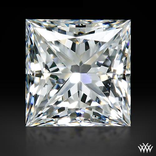0.698 ct H VVS2 A CUT ABOVE® Princess Super Ideal Cut Diamond
