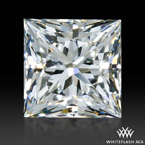 0.566 ct F VS1 A CUT ABOVE® Princess Super Ideal Cut Diamond