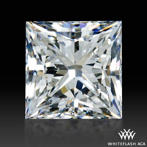 0.53 ct F VVS1 A CUT ABOVE® Princess Super Ideal Cut Diamond