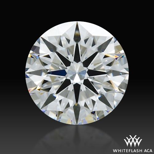 0.312 ct F VS2 A CUT ABOVE® Hearts and Arrows Super Ideal Round Cut Loose Diamond