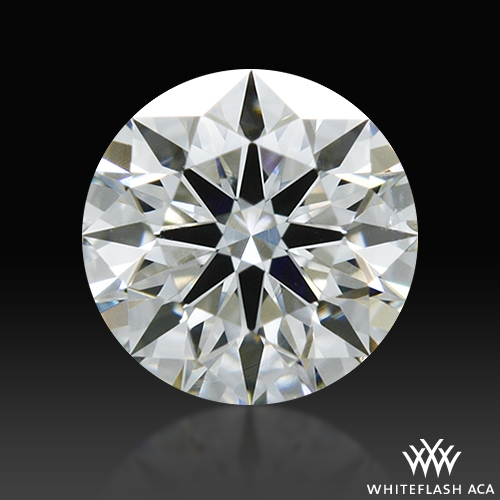 0.376 ct G SI1 A CUT ABOVE® Hearts and Arrows Super Ideal Round Cut Loose Diamond