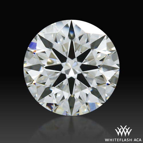 0.316 ct F SI1 A CUT ABOVE® Hearts and Arrows Super Ideal Round Cut Loose Diamond