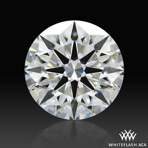 0.422 ct G VS1 A CUT ABOVE® Hearts and Arrows Super Ideal Round Cut Loose Diamond