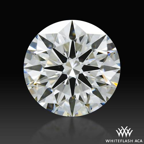 0.417 ct H VS1 A CUT ABOVE® Hearts and Arrows Super Ideal Round Cut Loose Diamond