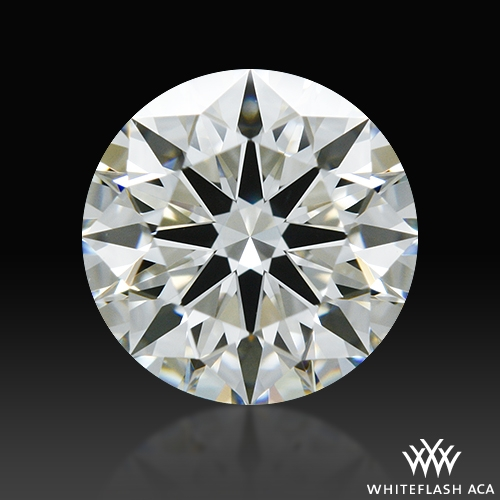 0.713 ct I VS1 A CUT ABOVE® Hearts and Arrows Super Ideal Round Cut Loose Diamond