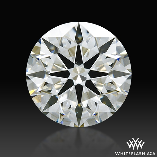 0.831 ct I VS2 A CUT ABOVE® Hearts and Arrows Super Ideal Round Cut Loose Diamond