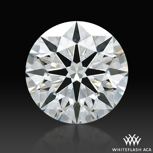 0.764 ct H VS2 A CUT ABOVE® Hearts and Arrows Super Ideal Round Cut Loose Diamond