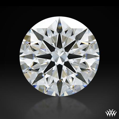 1.013 ct E VS1 A CUT ABOVE® Hearts and Arrows Super Ideal Round Cut Loose Diamond