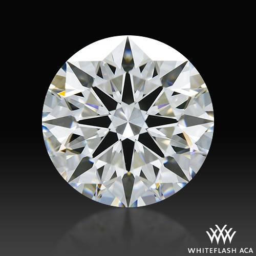 1.226 ct E SI1 A CUT ABOVE® Hearts and Arrows Super Ideal Round Cut Loose Diamond